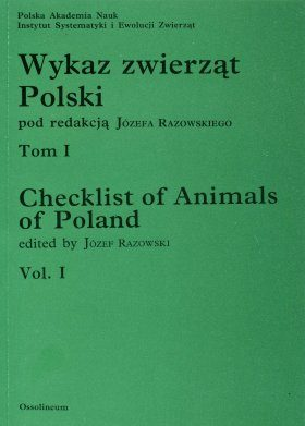 Checklist of Animals of Poland, Volume 1: Insects: Protura - Planipennia