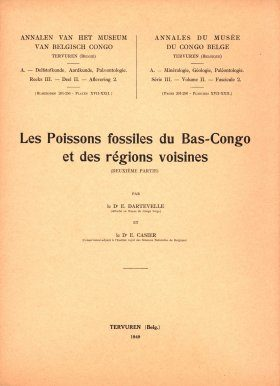 Les Poissons Fossiles du Bas-Congo et des Régions Voisines, Deuxième Partie [The Fossil Fishes of Bas-Congo and the Neighboring Regions, Second Part]