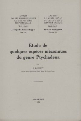 Étude de Quelques Espèces Méconnues du Genre Ptychadena [Study of Some Unknown Species of the Genus Ptychadena]