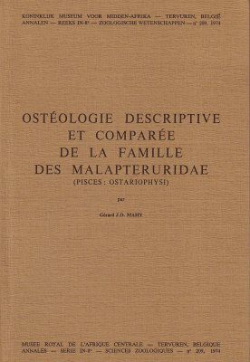 Ostéologie Descriptive et Comparée de la Famille des Malapteruridae (Pisces: Ostariophysi) [Descriptive and Comparative Osteology of the Family Malapteruridae (Pisces: Ostariophysi)]