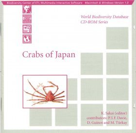 Crabs of Japan (CD-ROM)