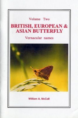 British European and Asian Butterfly Vernacular Names