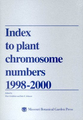 Index to Plant Chromosome Numbers, 1998-2000
