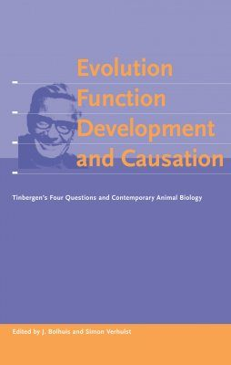 Evolution, Function, Development and Causation