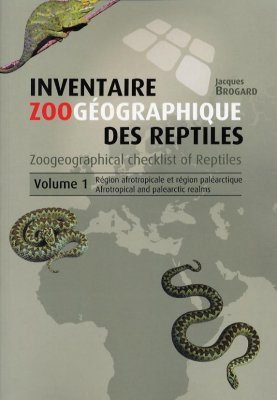 Zoogeographical Checklist of Reptiles, Volume 1: Afrotropical and Palearctic Realms