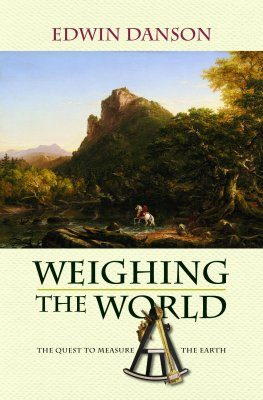 Weighing the World
