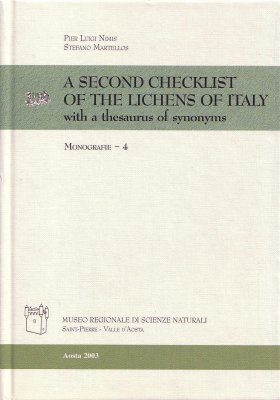 A Second Checklist of the Lichens of Italy