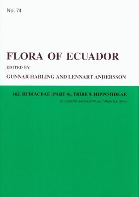 Flora of Ecuador, Volume 74, Part 162: Rubiaceae (part 4), Tribe 9. Hippotideae