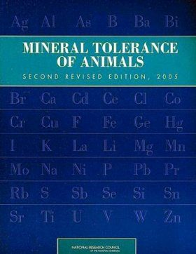 Mineral Tolerance of Animals