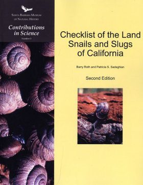 Checklist of the Land Snails and Slugs of California
