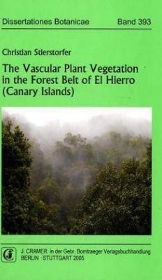 The Vascular Plant Vegetation in the Forest Belt of El Hierro (Canary Islands)