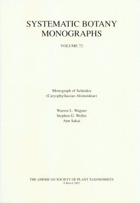 Monograph of Schiedea (Caryophyllaceae-Alsinoideae)