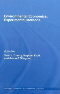 Experimental Economics, Environmental Methods