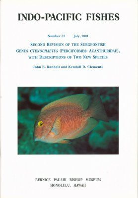 Second Revision of the Surgeonfish Genus Ctenochaetus (Perciformes: Acanthuridae) with Descriptions of Two New Species