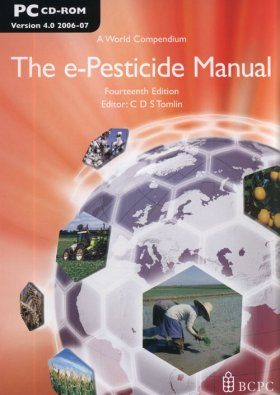 The e-Pesticide Manual - Version 4 (2006-07) on CD-ROM