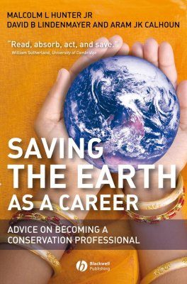 Saving the Earth as a Career