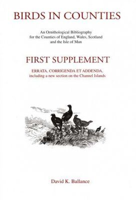 Birds in Counties: First Supplement
