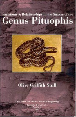Variations & Relationships in the Snakes of the Genus Pituophis