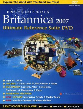 Encyclopaedia Britannica 2007: DVD Edition