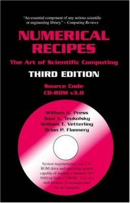 Numerical Recipes Source Code CD-ROM