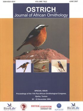 Proceedings of the 11th Pan-African Ornithological Congress, Djerba, Tunisia, 20-25 November 2004