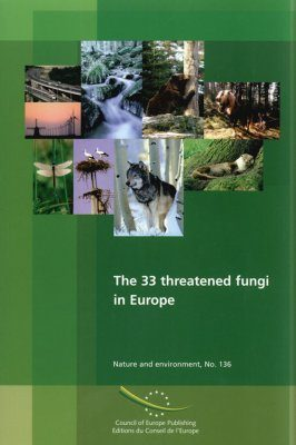 The 33 Threatened Fungi in Europe
