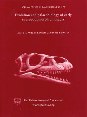 Evolution and Palaeobiology of Early Sauropodomorph Dinosaurs