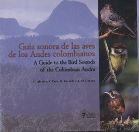 A Guide to the Bird Sounds of the Colombian Andes / Guía Sonora de las Aves de los Andes Colombianos (7CD)