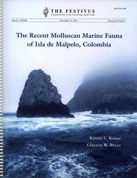 The Recent Molluscan Marine Fauna of Isla de Malpelo, Colombia