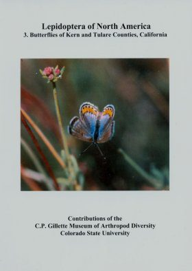 Lepidoptera of North America, Volume 3: Butterflies of Kern and Tulare Counties, California Park