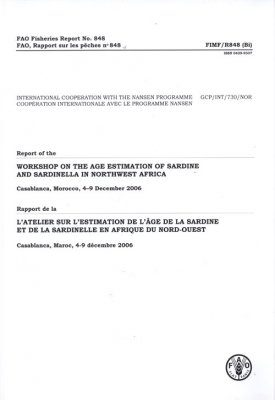 Report of the Workshop on the Age Estimation of Sardine and Sardinella in Northwest Africa
