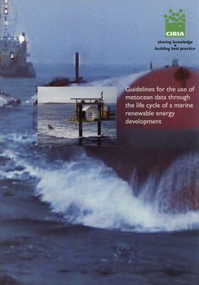 Guidelines for the Use of Metocean Data Through the Lifecycle of a Marine Renewable Energy Development