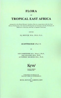 Flora of Tropical East Africa: Acanthaceae, Part 2