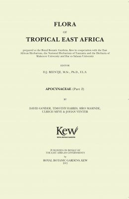 Flora of Tropical East Africa: Apocynaceae, Part 2