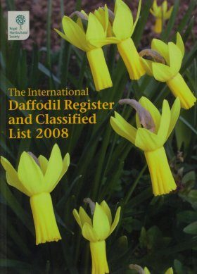 International Daffodil Register and Classified List 2008