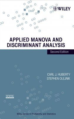 Applied MANOVA and Discriminant Analysis