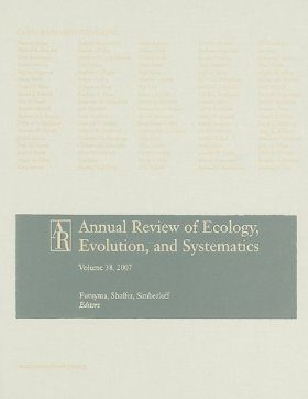 Annual Review of Ecology, Evolution, and Systematics, Volume 39