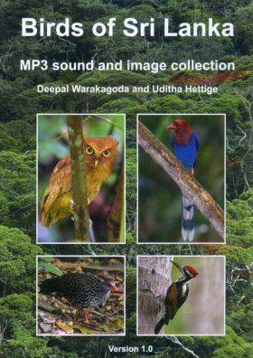Birds of Sri Lanka - MP3 Sound and Image Collection
