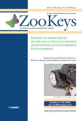 ZooKeys 6: Revision of world species of the genus Oreiscelio Kieffer (Hymenoptera, Platygastroidea, Platygastridae)