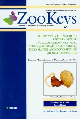 ZooKeys 11: The Symphytognathoid Spiders of the Gaoligongshan, Yunnan, China (Araneae: Araneoidea): Systematics and Diversity of Micro-orbweavers
