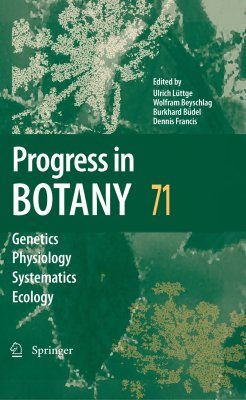 Progress in Botany, Volume 71