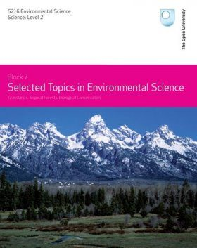 Selected Topics in Environmental Science, Topics 9-11