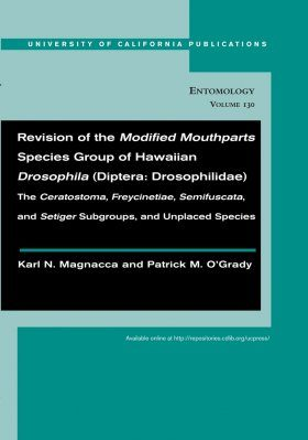 Revision of the Modified Mouthparts Species Group of Hawaiian Drosophila (Diptera: Drosophilidae)