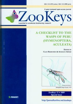 ZooKeys 15: A Checklist to the Wasps of Peru (Hymenoptera, Aculeata)