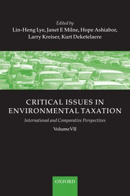 Critical Issues in Environmental Taxation, Volume 7