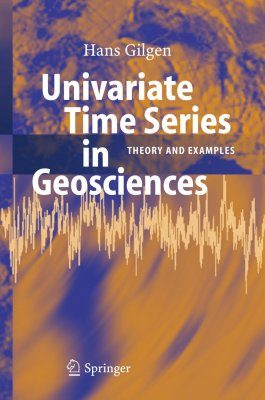 Univariate Time Series in Geosciences