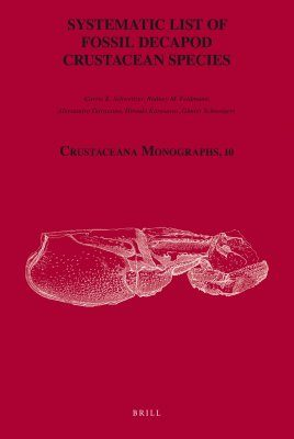 Systematic List of Fossil Decapod Crustacean Species
