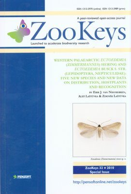 ZooKeys 32: Western Palaearctic Ectoedemia (Zimmermannia) Hering and Ectoedemia Busck s. str. (Lepidoptera: Nepticulidae): Five New Species and New Data on Distribution, Hostplants and Recognition