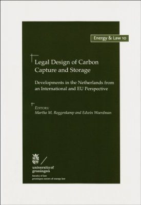 Legal Design of Carbon Capture and Storage