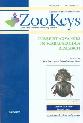 ZooKeys 34: Current Advances in Scarabaeoidea Research